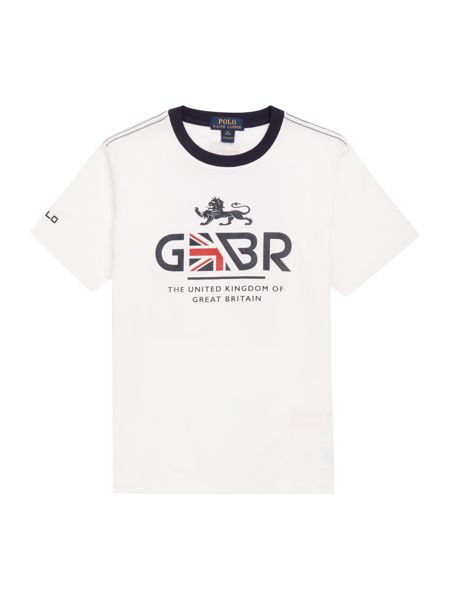 Polo Ralph Lauren Boys Team GBR T-shirt