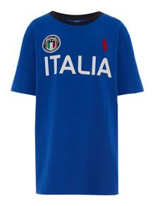 Polo Ralph Lauren Boys Team Italy T-shirt