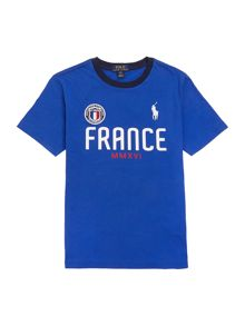 Polo Ralph Lauren Boys Team France T-shirt