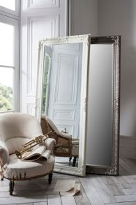 Linea Bramley Antique Silver Mirror