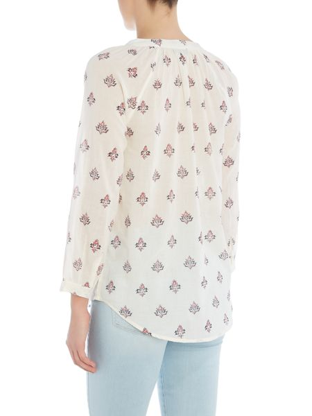 Paige Sammy long sleeve printed blouse