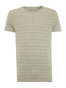 Jack & Jones Ditsy Stripe Crew Neck T-shirt