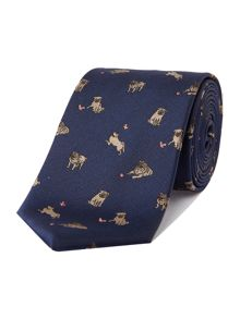 New & Lingwood Dodder pug tie