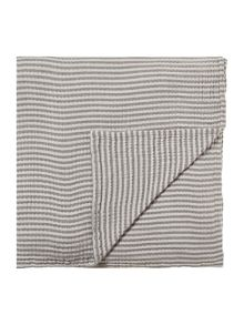Gray & Willow Nora stripe stonewashed bedspread