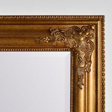 Linea Florence Gold Mirror 107 x 70cm