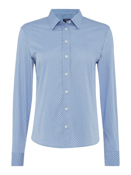 Gant Broadcloth Stretch Dot Shirt