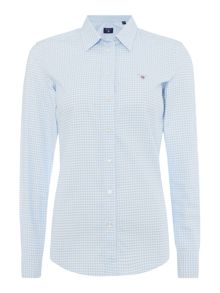 Gant Gingham Stretch Oxford Shirt