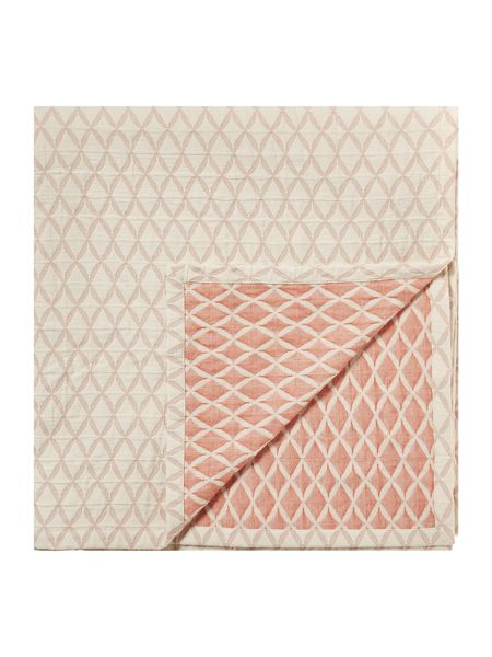 Living by Christiane Lemieux Diamond jacquard bedspread