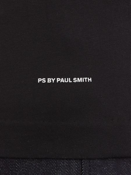 PS By Paul Smith Slim fit PS moon print short sleeve t shirt