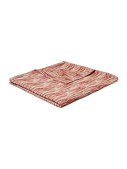 Nature`s collage stripe bedspread