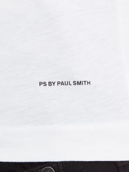 PS By Paul Smith Slim fit one way man print crew neck t shirt