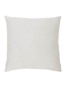Casa Couture Argento jacquard cushion