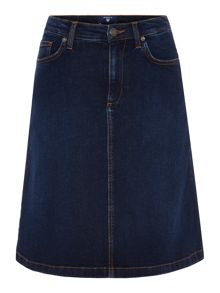 Gant A-Line Denim Skirt