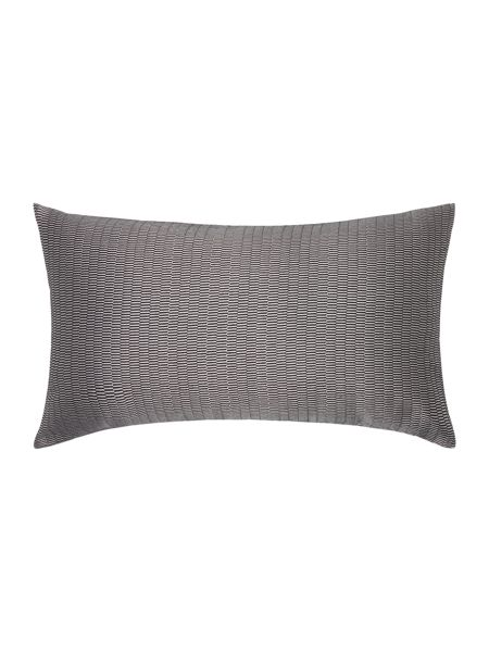 Casa Couture Gunmetal jacquard cushion