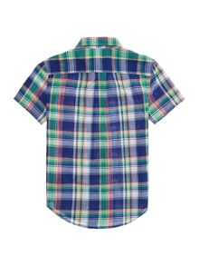 Polo Ralph Lauren Boys Short Sleeve Madras Check Shirt