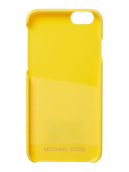 Michael Kors Yellow iphone 6 cover