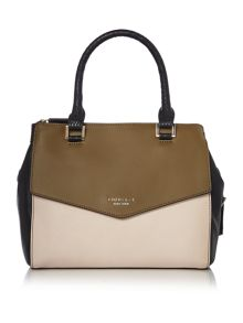 Fiorelli Mia green medium grab tote bag