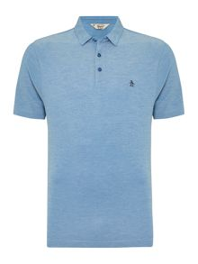 Original Penguin Marl Pique Short Sleeve Polo Shirt