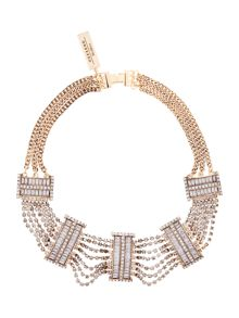 Max Mara Garian gold necklace
