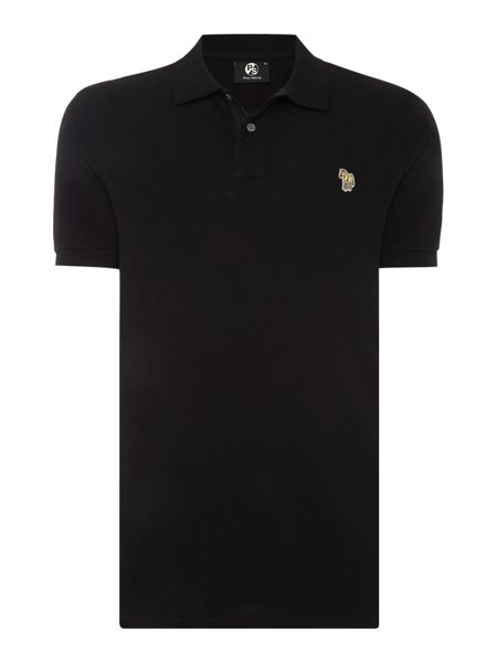 PS By Paul Smith Regular fit zebra logo core polo shirt