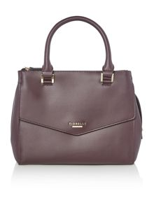 Fiorelli Mia burgundy medium grab tote bag