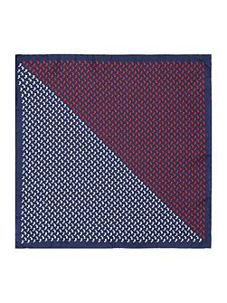 Guilford Scotty Dog Printed Pocket Square