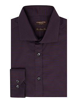 Nunzio Italian Fabric Dogtooth Shirt