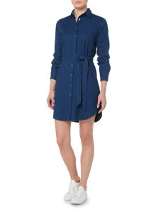 Gant Dobby Shirt Dress