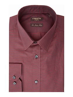 Giovanni Italian Fabric textured shirt