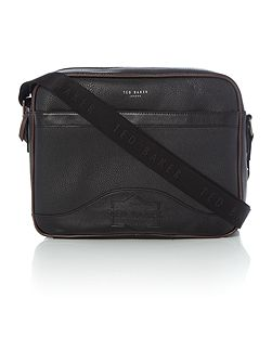 Oscar Embossed Messenger Bag