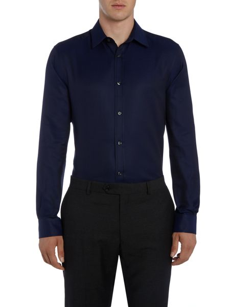Corsivo Matello Italian Fabric satin twill shirt