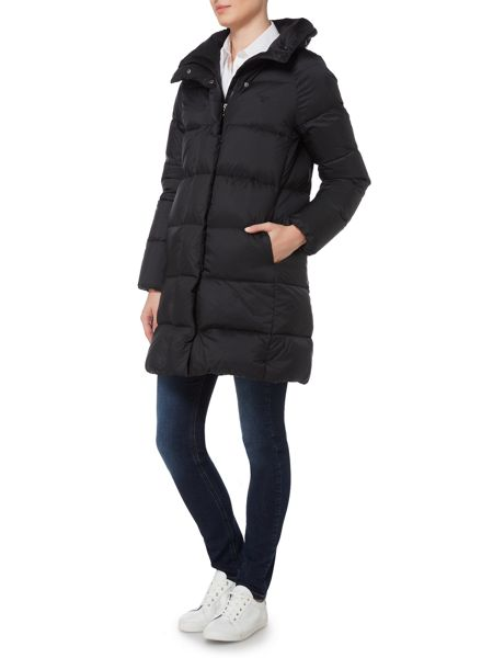 Gant Long Quilted Coat