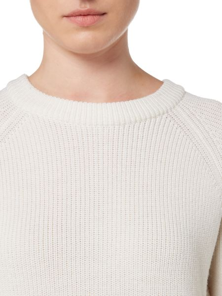 Gant Ribbed Crew Neck Jumper