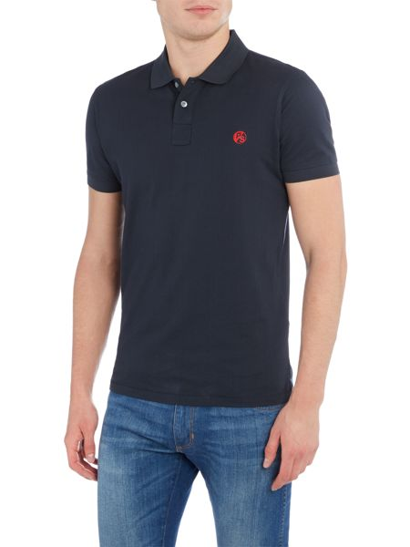 PS By Paul Smith Slim fit contast logo polo shirt