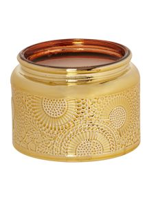 Voluspa Japonica Panjore Lychee Small Glass Candle