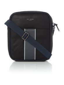 Ted Baker Max Striped Webbing Small Flight Bag