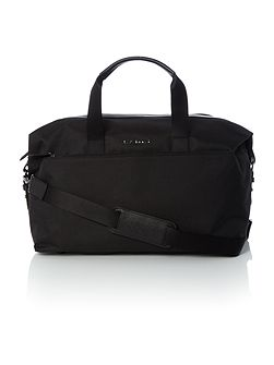 Wood Nylon Holdall