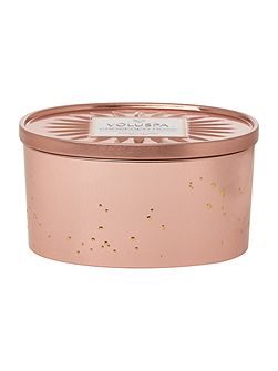 Prosecco Rose 2 Wick Candle Tin