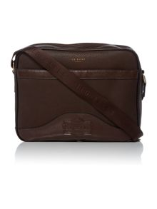 Ted Baker Oscar Embossed Messenger Bag