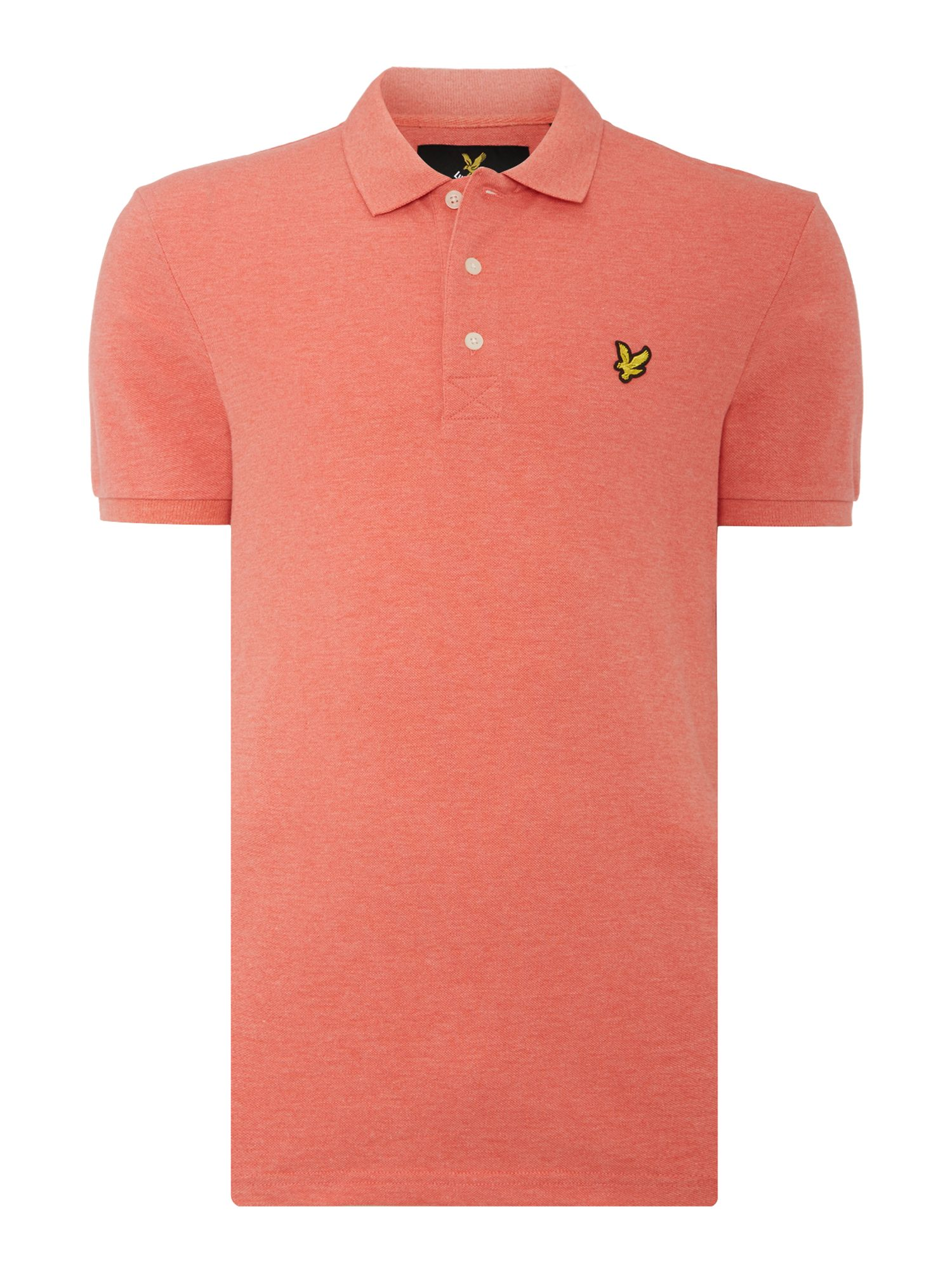 Men's Lyle and Scott Short Sleeve Classic Polo, Terracotta