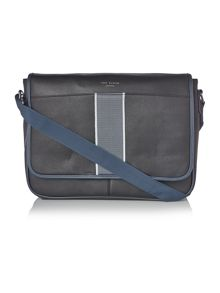 Ted Baker Webster Striped Webbing Messenger Bag