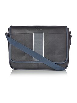 Webster Striped Webbing Messenger Bag