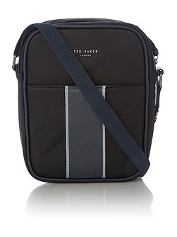 Joshua Striped Webbing Flight Bag