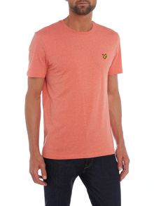 Lyle and Scott Crew Neck Short Sleeve Logo T-shirt