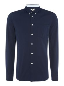 PS By Paul Smith Tailored fit long sleeve oxford shirt