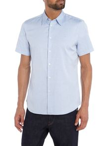 PS By Paul Smith Tailored fit short sleeve oxford shirt