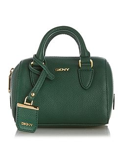 Chelsea green mini tote cross body bag