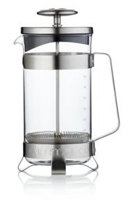 Barista & Co 8 Cup Plunge Pot , Electric Steel
