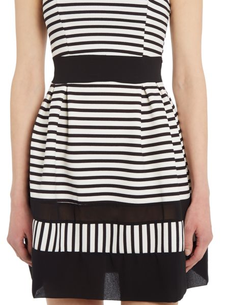 Wal-G Sleeveless Stripe Dress