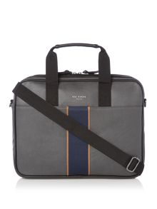 Ted Baker Ricca Striped Webbing Document Bag